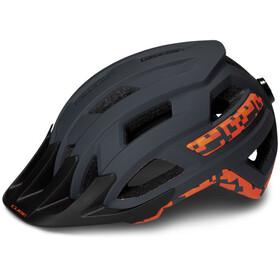 Cube Rook Helmet grey'n'orange